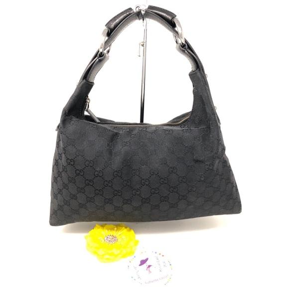 8ad4ba3856bf Gucci Bags   Monogram Canvas Hobo Bag   Poshmark